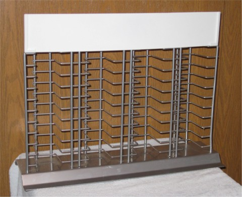 counter tile display