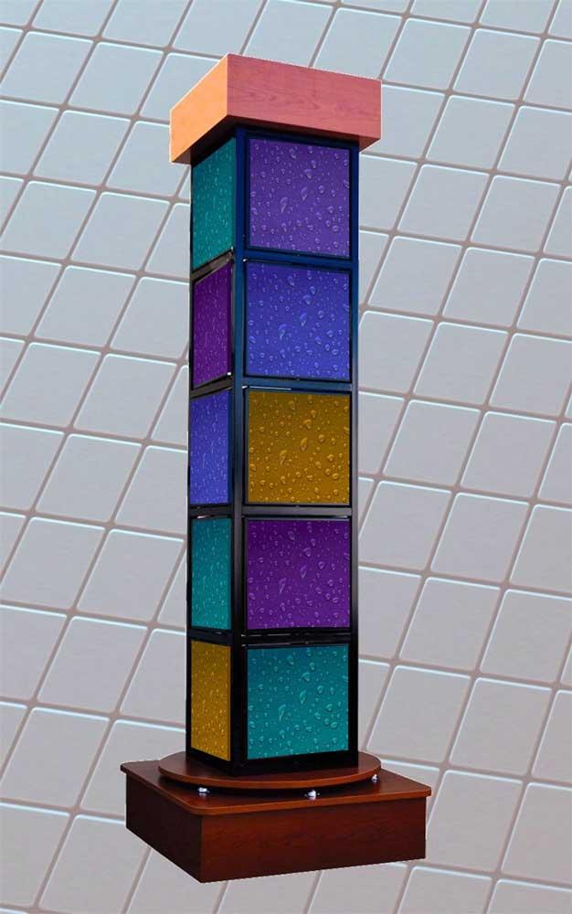 glass tile displays
