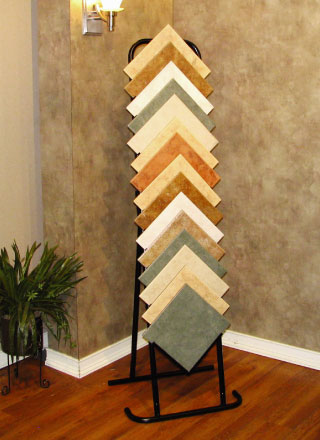 loose tile displays